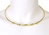 GOLD PLATED MOOR CHOKER NECKLACE