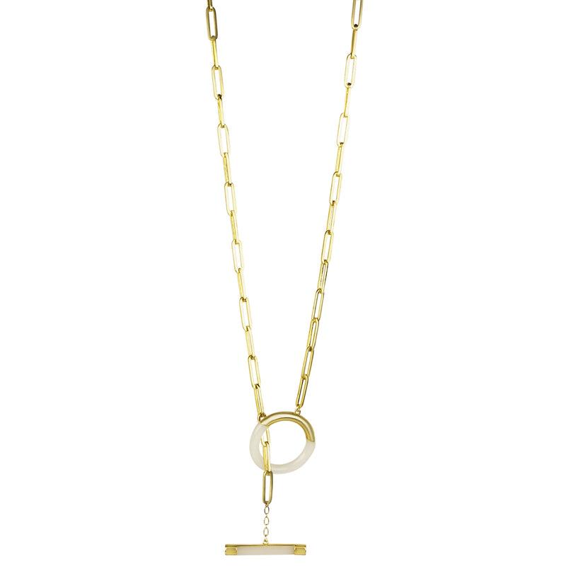 Flicker Oversized Toggle Necklace