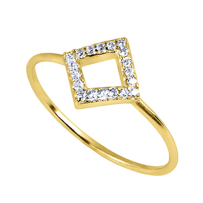 Russo Square Ring