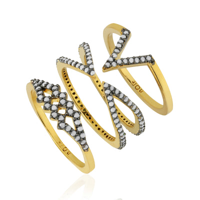 BEAR RIVER STACKABLE RINGS
