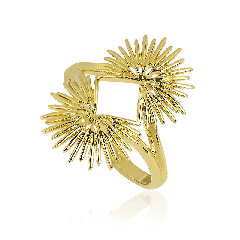 PALM LEAVES RING