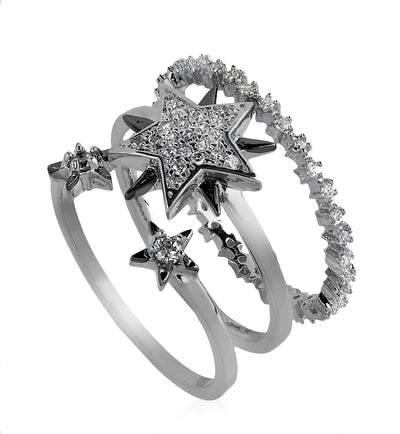 Cosmic Array Ring Set
