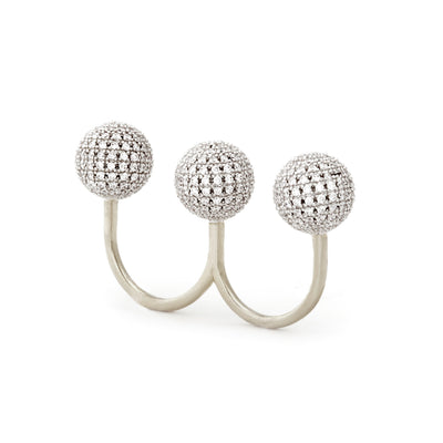 Cassandra Double Finger Ring