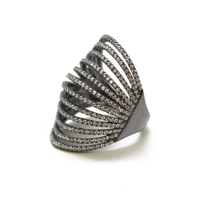 Helinda Wave Ring