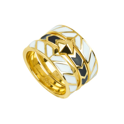 Intersection Stackable Rings