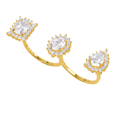 Diana Double Ring