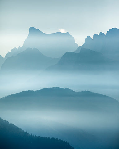 Mountains Waves by Claire Droppert