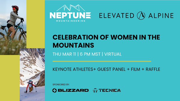 Celebration of Women in the mountains event