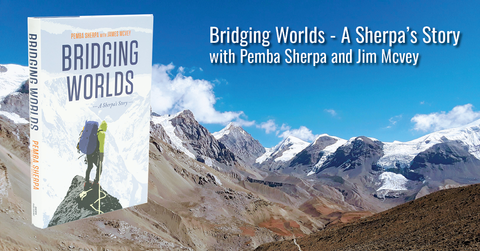 bridging worlds book talk with pemba sherpa | neptune events