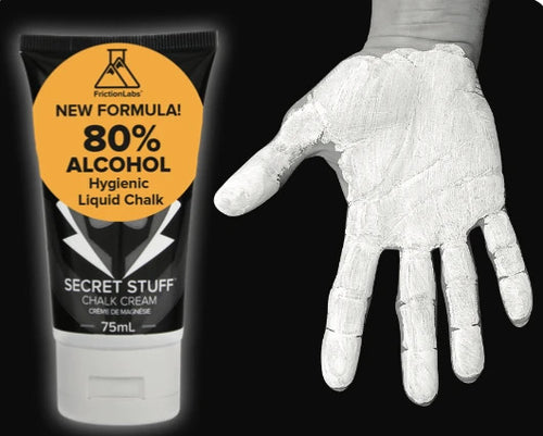 Friction Labs Secret Stuff Liquid Chalk Hygienic 80% Alcohol
