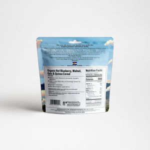 Backpackers Pantry Organic Blueberry Walnut Oatmeal