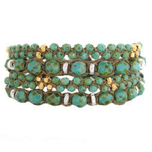 Load image into Gallery viewer, Bronwen Harmony Wrap Bracelet