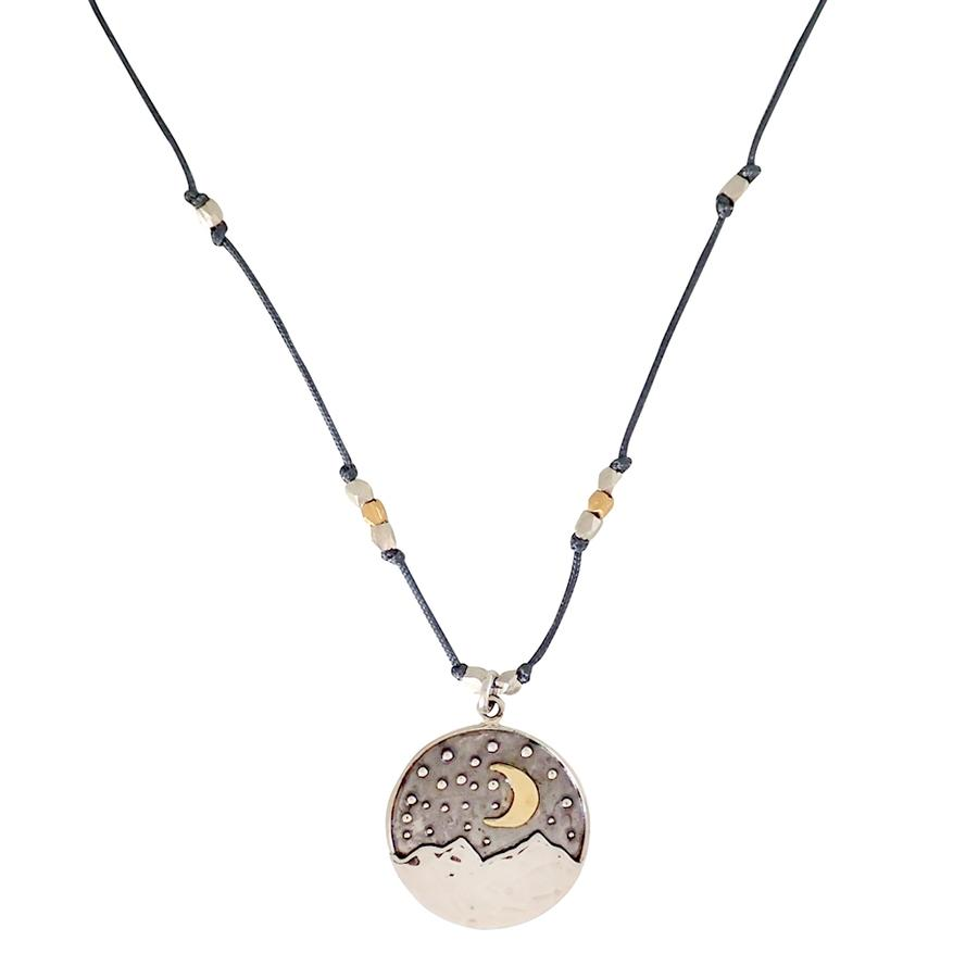 Bronwen Moon Landscape Necklace