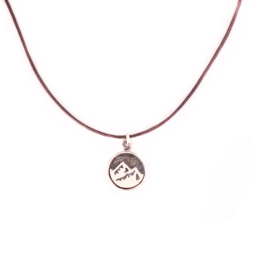 Bronwen Tiny Charm Mountain Necklace