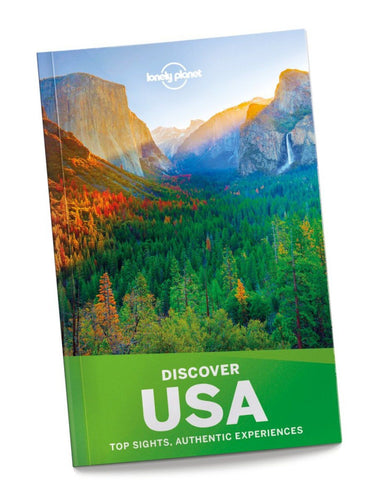 Lonely Planet Guide Discover USA