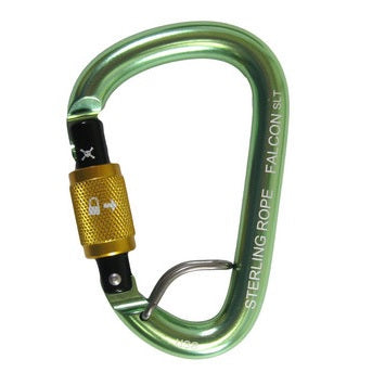 Sterling Falcon Screwgate Carabiner with Talon