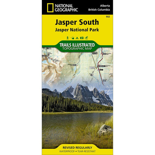 National Geographic Jasper South Map [Jasper National Park] (902)