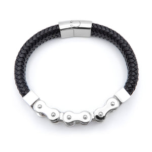 Lilo Collections Bike Links Flat Bracelet