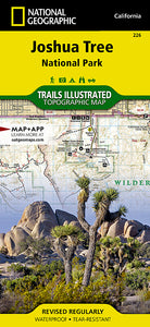 Naitonal Geographic Joshua Tree National Park Map (226)
