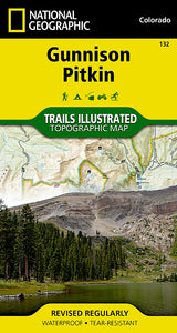 National Geographic Gunnison, Pitkin Map (132)