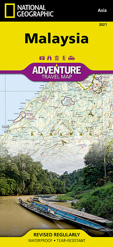 National Geographic Malaysia Map (3021)