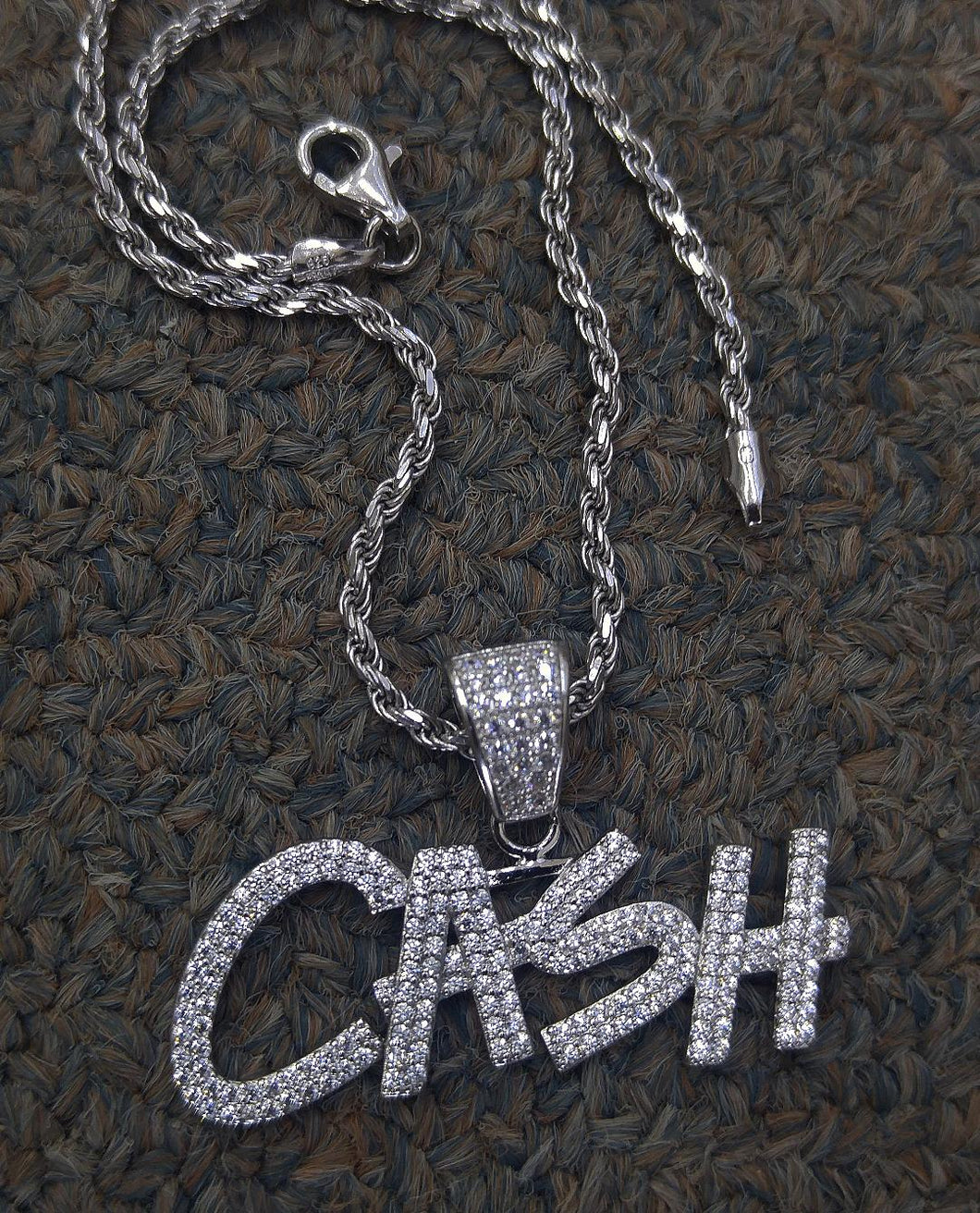 925 silver CASh with 925 rope