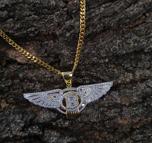 bentley lab diamond pendant and chain