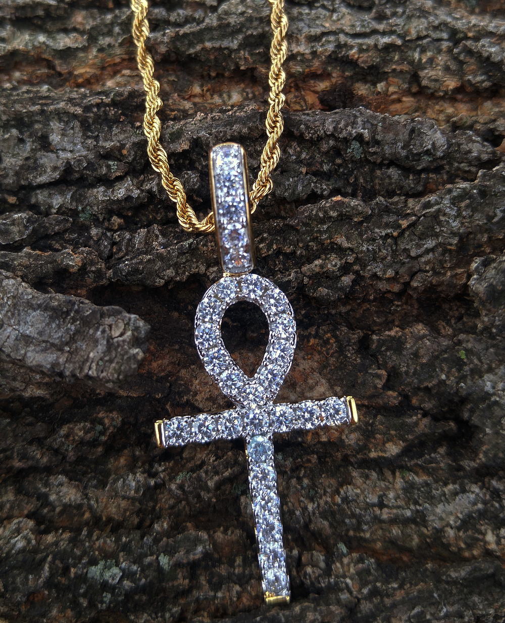 alpha ankh and chain set