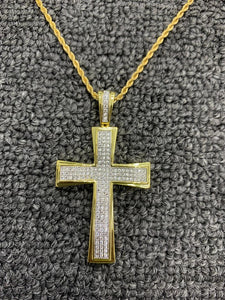 cross with 20 in chain