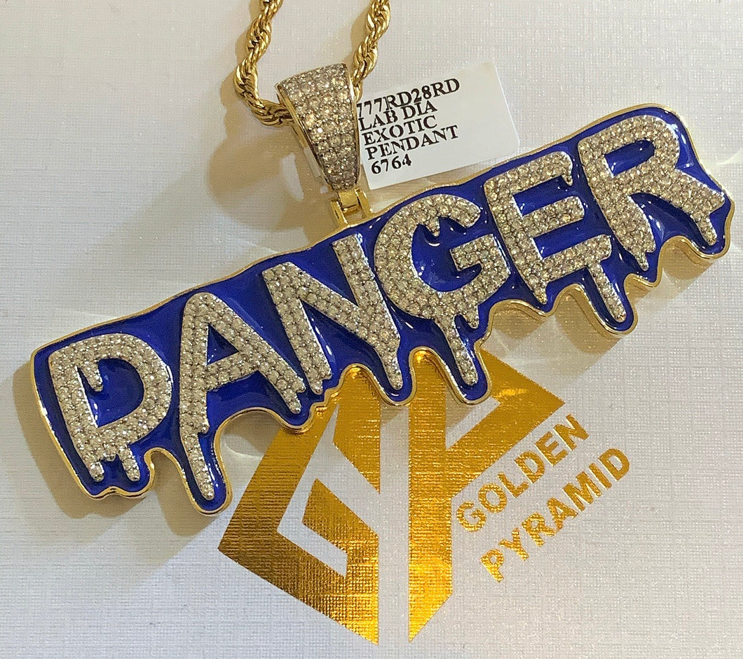 drip danger with rope chain