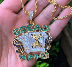 New bread winner with rope chain