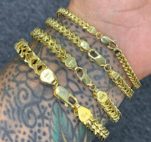 Load image into Gallery viewer, 10k gold Franco bracelets