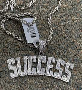925 silver success pendant