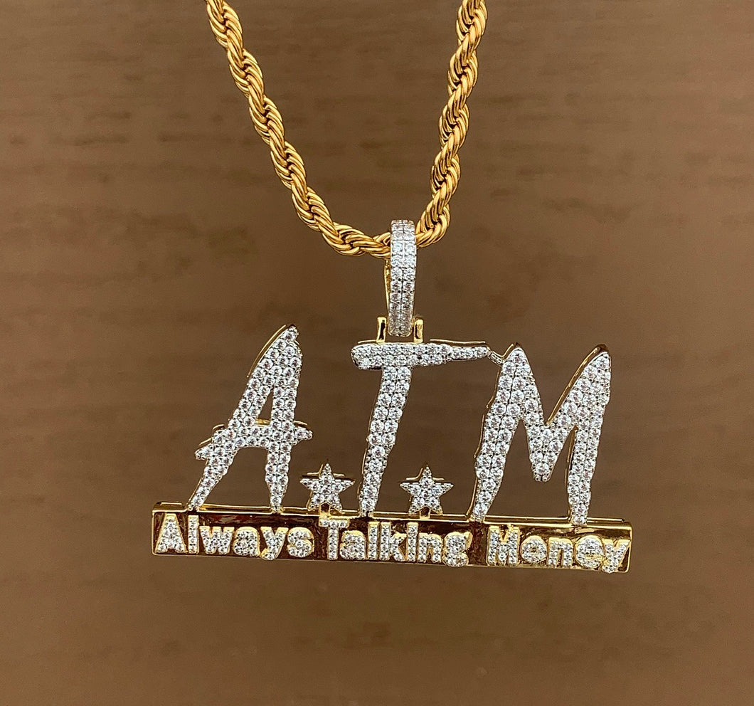 Atm pendant with rope chain