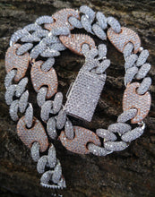 Load image into Gallery viewer, 16mm gucci cuban necklace