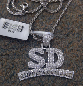 925 silver SD with 925 rope