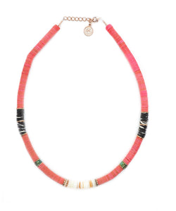 collier surfer coral pearl karma