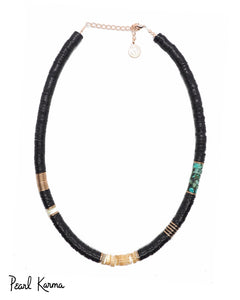 collier surfer black pearl karma