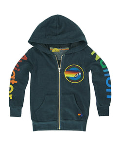 veste capuche kids aviator nation