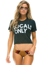 Charger l'image dans la galerie, t-shirt  woman locals only aviator nation
