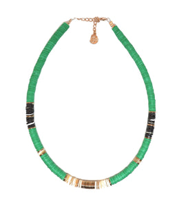 collier surfer green pearl karma