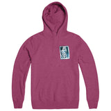 "BE WELL ""Life Love Shirts - Fuchsia"" Hoodie"