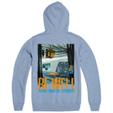 "BE WELL ""Life Love Shirts - Sky"" Hoodie"