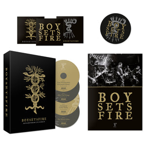 "BOYSETSFIRE ""20th Anniversary Live In Berlin"" DVD Box"