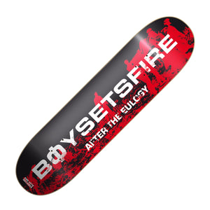 "BOYSETSFIRE ""After The Eulogy"" Skatedeck"