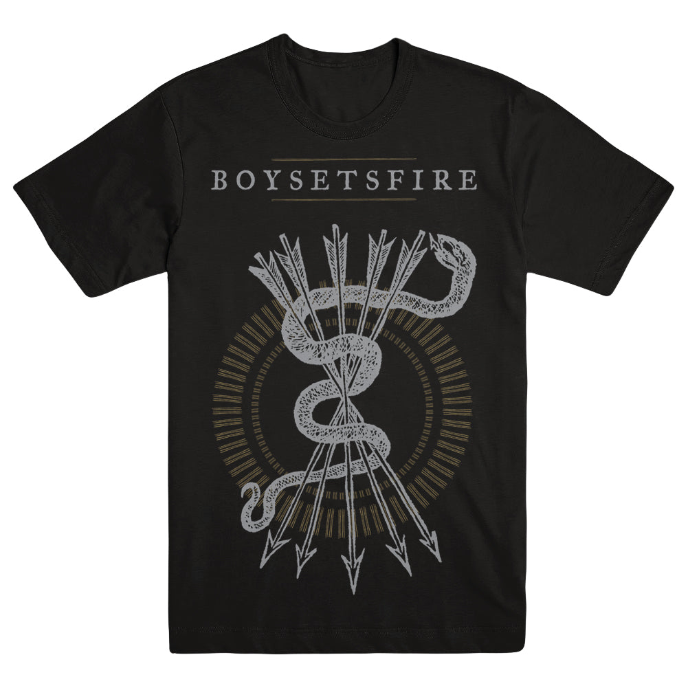 "BOYSETSFIRE ""Arrows & Snake"" T-Shirt"