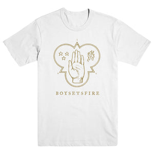 "BOYSETSFIRE ""While A Nation Sleeps White"" T-Shirt"