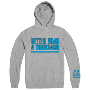 "BETTER THAN A THOUSAND ""Flyer Grey"" Hoodie"