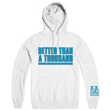 "BETTER THAN A THOUSAND ""Flyer White"" Hoodie"