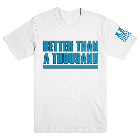 "BETTER THAN A THOUSAND ""Flyer White"" T-Shirt"